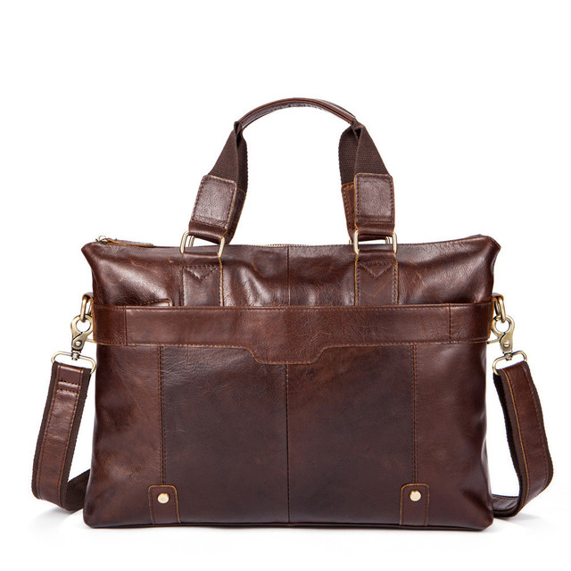 Genuine Leather Laptop Bags High Quality