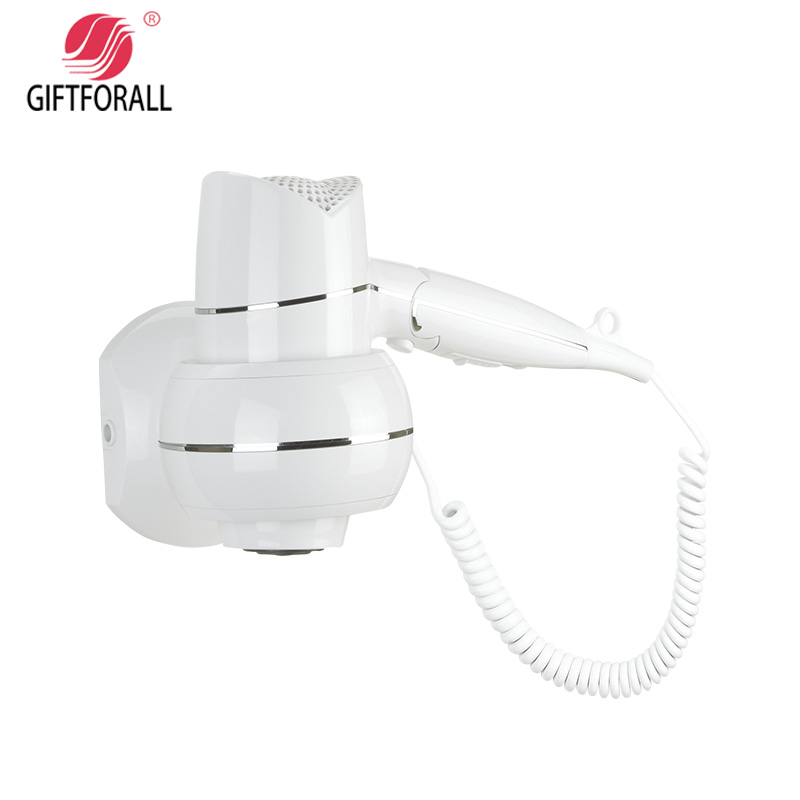 GIFTFORALL Hairdryer Professional Styling Mounted Portable not hurt the hair hot and cold windHotel Bathroom Home Dryer D156 giftforall hair dryer hotel bathroom home professional hair salon powerful wall mounted portable mini hairdryer d139 d