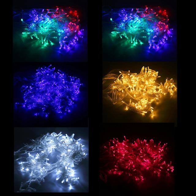 6 M x 3 M 600 LEDs Carámbano LED Cortina de Hadas de la Secuencia Luz AC220V Inicio Del Banquete de Boda de Navidad Decoración de La Cortina luces de La Venta Caliente