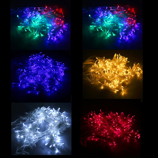 6Mx3M 600LEDs Icicle LED Curtain String Fairy Light AC220V Home Party Wedding Christmas Decoration Curtain Lights Hot Sale