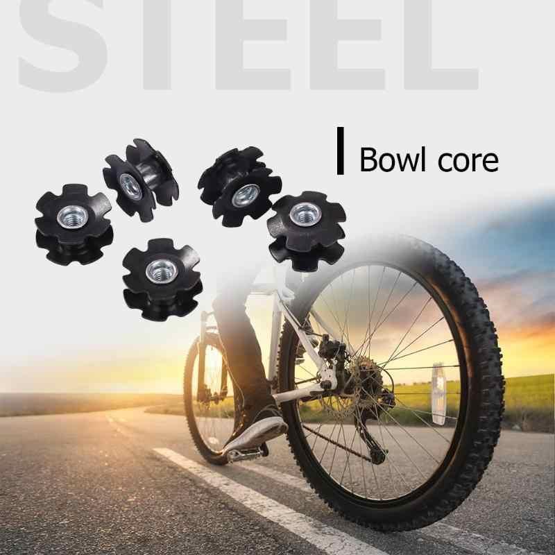 5 piezas bicicleta fibra de carbono girasol núcleo horquilla frontal juego de cuencos para MTB