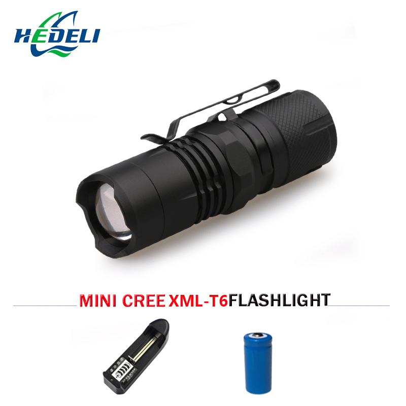 Lights & Lighting Super Bright Mini Flashlight Rechargeable Zoomble Xml T6 Hand Lamp Lantern Led Zaklamp Torch Flashlight Lampe Torche With Magnet To Be Renowned Both At Home And Abroad For Exquisite Workmanship Skillful Knitting And Elegant Design