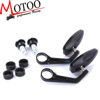 Motoo Free Shipping 7 8 Motorcycle Handlebar End Bar Mirrors Street Bikes For Ducati Monster 696