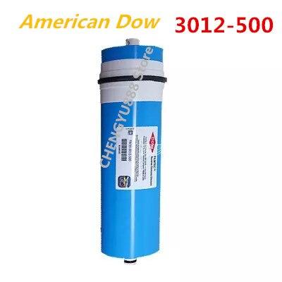 Authentique Dow Filmtec 500 gpd membrane d'osmose inverse TW30-3012-500 pour filtre à eau Cartouches système ro Filtre À Membrane