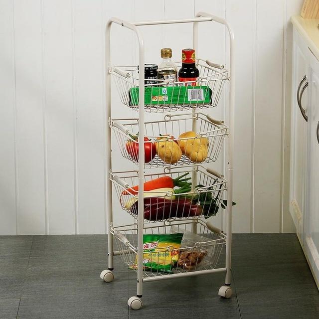 estanteras metlicas carros multifuncin shelf juguetes para nios almacenaje de la cocina multifruit
