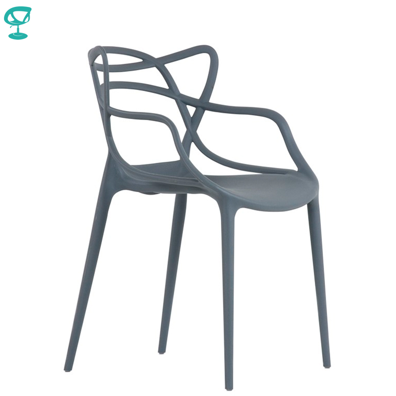 95423 Barneo N-221 Plastic Kitchen Interior Stool Chair For A Street Cafe Chair Kitchen Furniture Gray Free Shipping In Russia