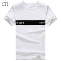 Casual Tees Men Fashion Design Print New Fashion Summer Short T Shirt Cotton Comfortable Male T