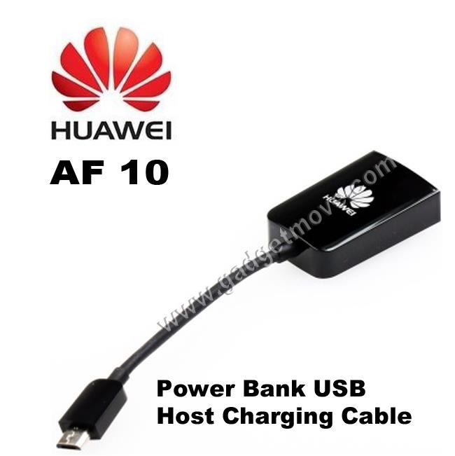 Original Huawei AF10 Cable For Router With Power Bank E5756 E5776 E5786