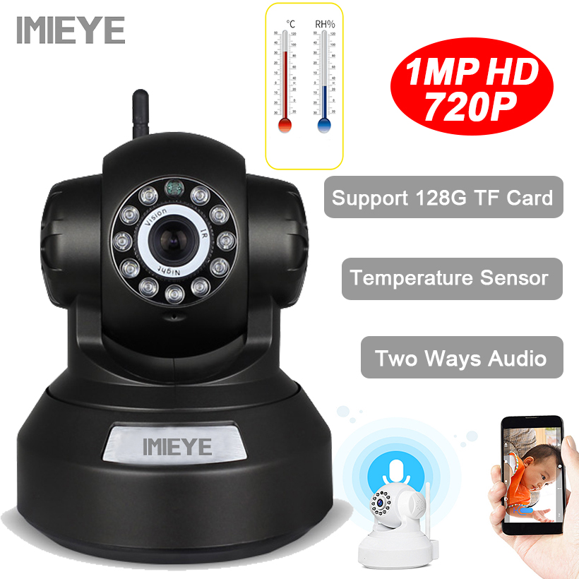 IMIEYE 720P 1MP Mini CCTV IP Wifi Wireless Security Camera Surveillance video WI-FI Onvif Night Vision Baby Monitor PTZ Camera