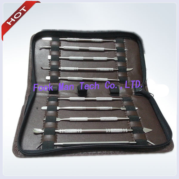 Jewelry Tools & Equipments Independent Wax Knife Kit Include 10 Pieces Blade,dental Instruments Equipment Wax Toiletry Kit Of Thomas Sculpture Knife Bag Back To Search Resultsjewelry & Accessories