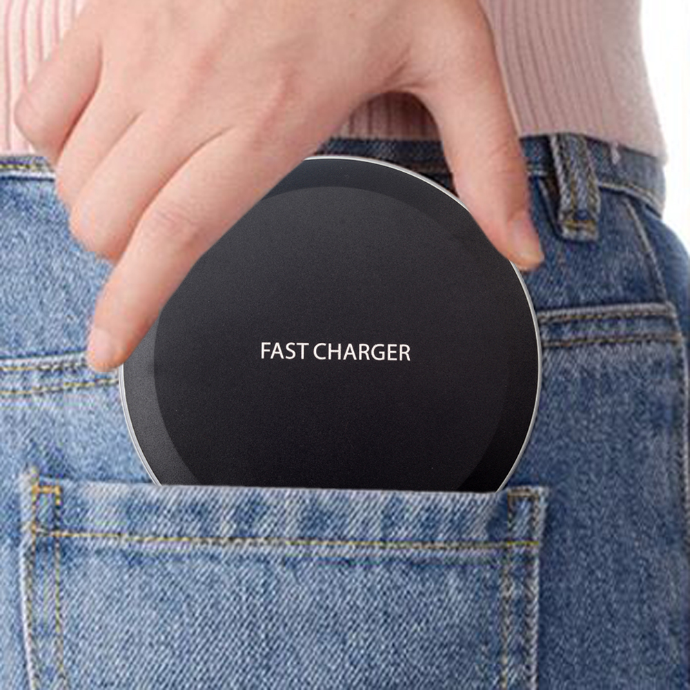 Qi Wireless Charger For iPhone X 8 Samsung Note 8 S8 Plus S7 S6 Edge Phone Wireless Charging Docking Dock Station