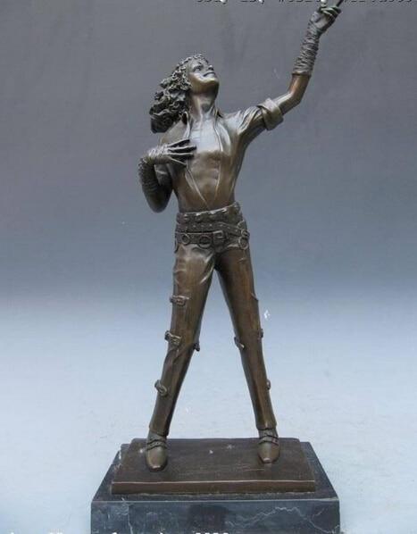 Michael Jackson Classical Posture Bronze Statue
