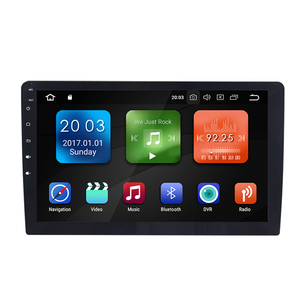9'' Touch Screen 2din Android GPS 3G Wifi dab RAM 4G + ROM 32G 2 DIN Car Multimedia Player Bluetooth Radio USB TV unit DH075