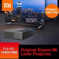Ban đầu Tiểu Mi Mi Máy Chiếu Laser WEMAX MỘT ALPD Laser Máy Chiếu Rạp Hát Tại Nhà 5000 Lumens 150 Inch Full HD Voice điều khiển