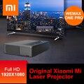 Original Xiao mi mi WEMAX UM ALPD Projetor Laser Laser Projetor Home Theater 5000 Lumens 150 Polegada Full HD Voz controle