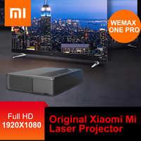 Original Xiaomi Mi Laser Projector WEMAX ONE ALPD Laser Projector Home Theater 5000 Lumens 150 Inch Full HD Voice Control