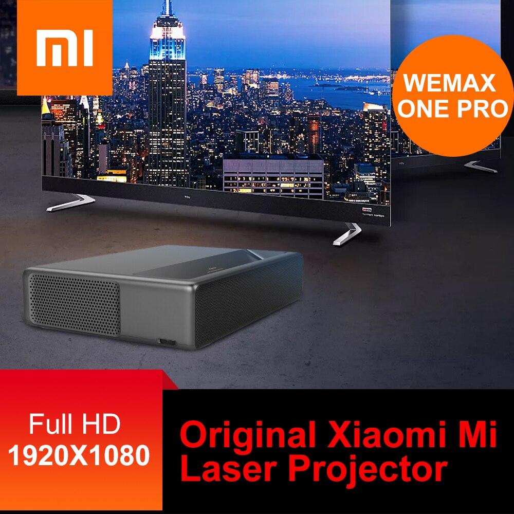 Projecteur Laser d'origine Xiao mi mi WEMAX ONE PRO projecteur Laser ALPD cinéma maison 5000 Lumens 150 pouces contrôle vocal Full HD