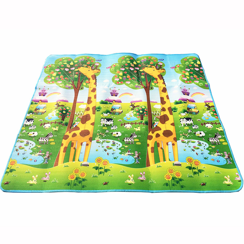 HTB1qAgea2WG3KVjSZFgq6zTspXaV Double Side Baby Play Mat 0.5cm Eva Foam Developing Mat for Children's Rug Carpet Kids Toys Gym Game Crawling Gym Playmat Gift