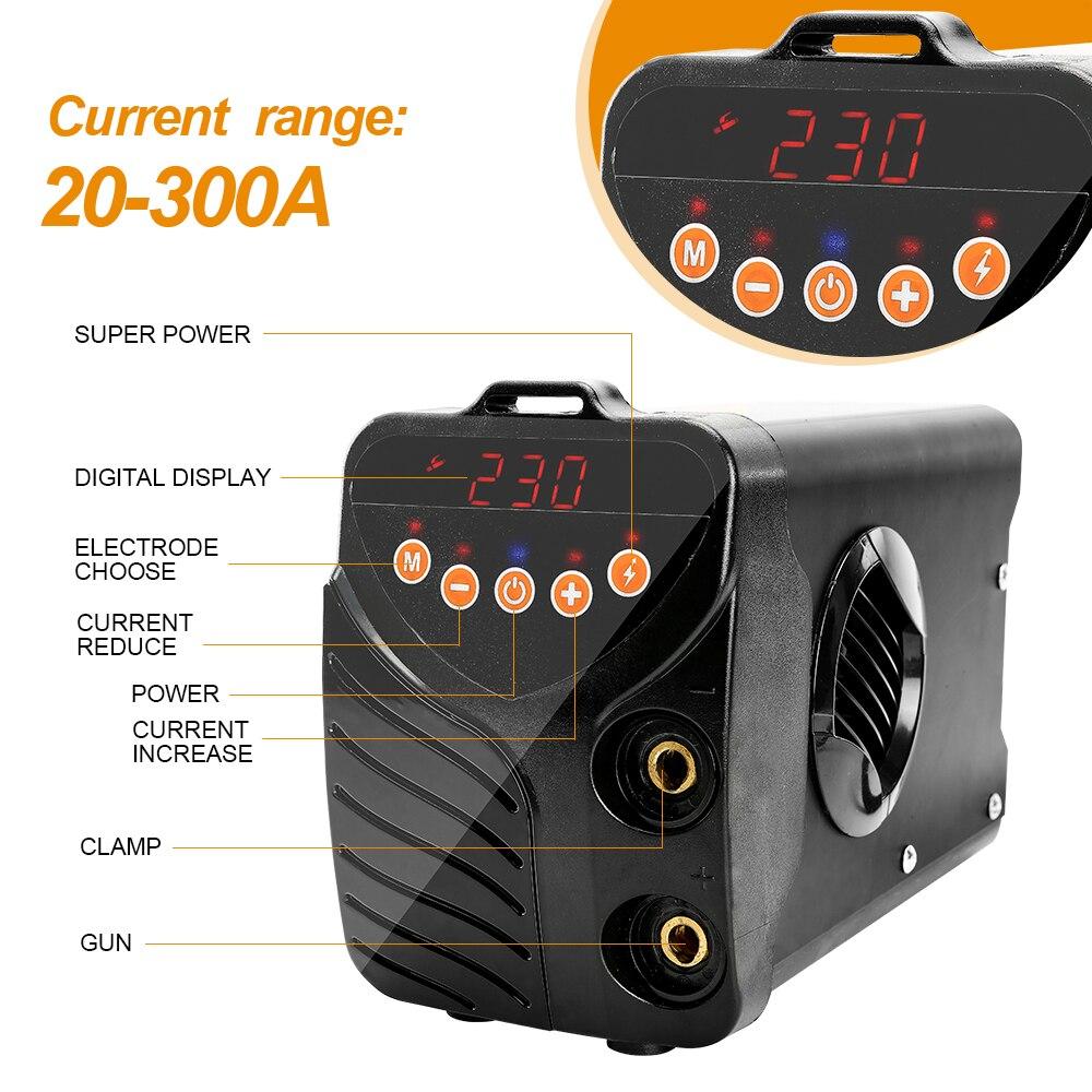 POSENPRO Schweißen Maschine Inverter ARC Schweißer AI-200/250/300 IGBT Serie DC Hohe Effizienz Elektrische Schweißer