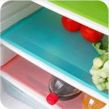 4 шт./компл. 30 см* 44 см модные холодильник pad антибактериальное обрастания объектива камеры, устойчивая к плесени, влагостойкий коврик холодильник Водонепроницаемый коврики