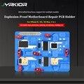 Jyrkior Взрывобезопасное охлаждение ремонт логической платы на платформе материнская плата ремонт PCB держатель приспособление для iPhone X/XS Max