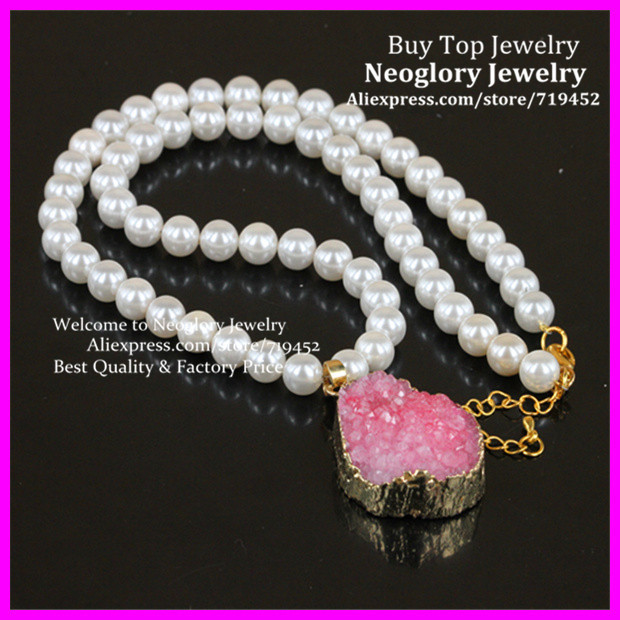 012a022dae97 ᗑ Moda mujer collar de perlas de agua dulce