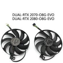 Оригинальный Для ASUS PH-GTX 1660-O6G игровой PH-GTX 1660Ti-O6G RTX 2060-6G видеовентилятор охлаждения PLD10010B12HH FDC10U12D9-C