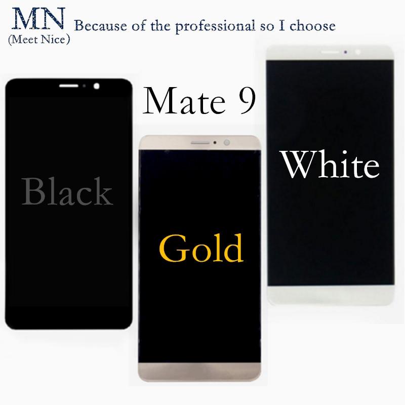 imágenes para Garantía 100% AAA + + + Para HUAWEI Mate 7 8 9 Mate7 Mate8 Mate9 LCD Del Digitizador Assembly-Blanco Negro Oro