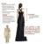 2017 nuevo blanco prom dress v cuello de manga larga árabe áfrica mujeres vestidos de noche con appliques vestidos marroquíes