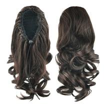Ponytail Hair-Bun Synthetic-Hair Clip-In Little Soowee Chignon My