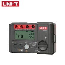 цена на UNI-T UT502A 2500V Megger Insulation Resistance Tester Digital Megohmmeter Multimetro Ohm Tester InsInsulation Resistance Tester