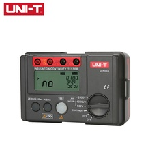 UNI-T UT502A 2500V Megger Insulation Resistance Tester Digital Megohmmeter Multimetro Ohm InsInsulation