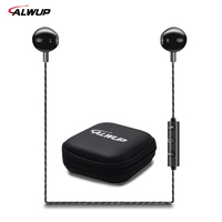 ALWUP Wireless Headphone Bluetooth Earphone HIFI Bass Music Sport Running Neckband Headset With Microphone For IPhone