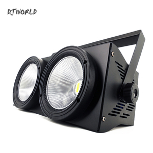 Image 2 - 2 Eyes LED 200W COB Par Light  RGBWA+UV 6in1 DMX 512 Lighting For Professional Large Stage Theater Spectator Seat