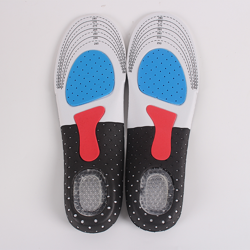 Free Size Sports Insole Pad Running Trekking Thickening Shock Absorption Unisex Insole Arch Support Breathable Shoes Pad