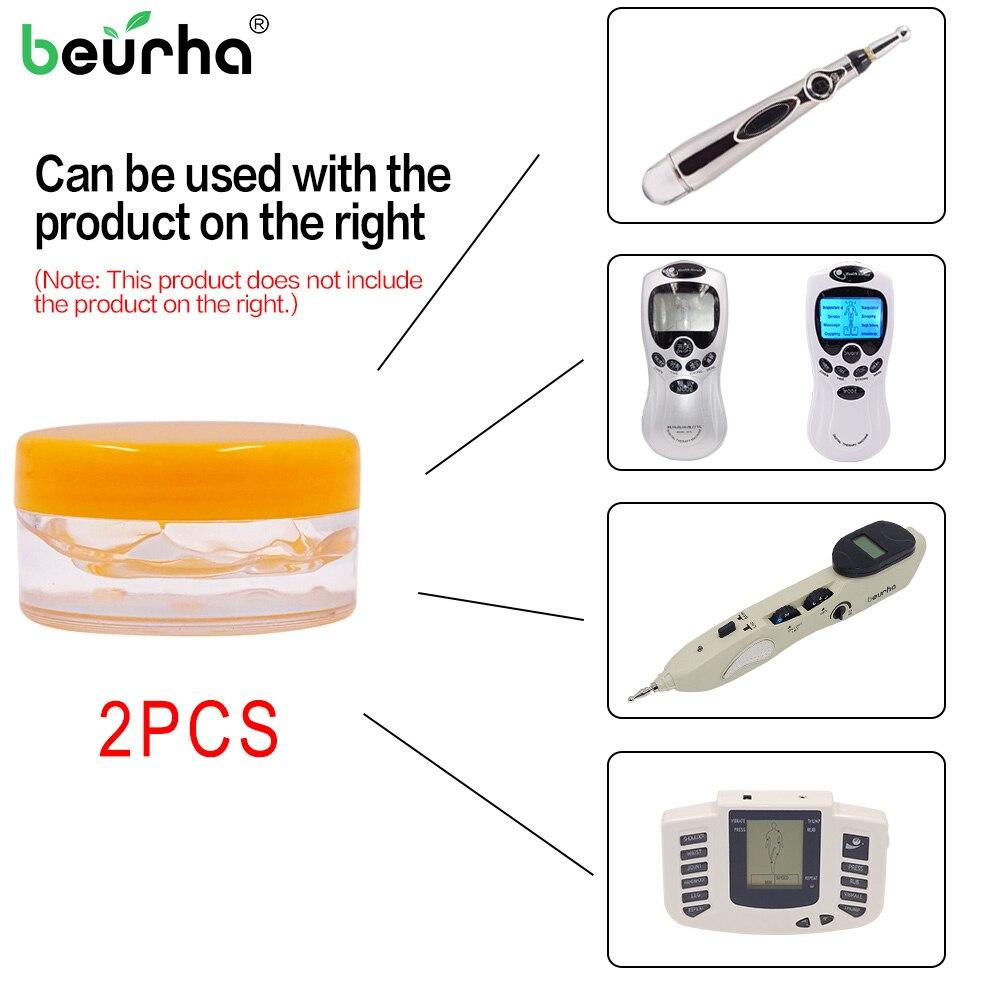 Pen-Gel Find-Acupuncture-Points 2PCS Massage-Accessories Therapy-Instrument Conductive-Gel