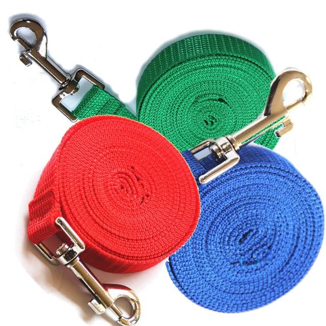 Collari per cani di taglia grande corda di Nylon 3 m/6 m/10 m/15 m/20 m /30 m/50