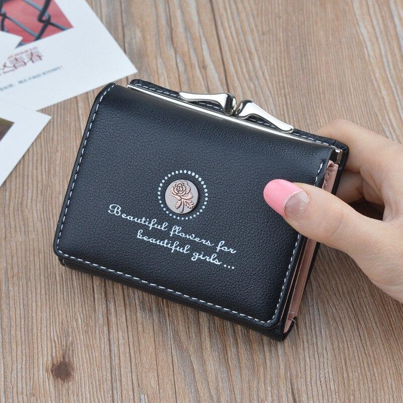 Marke Designer Kleine Brieftaschen Frauen Leder Telefon Brieftaschen Weiblichen Kurzen Reißverschluss Geldbörsen Geld Kreditkarteninhaber Clutch