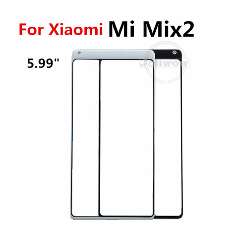 For XiaoMi Mi Mix Mix 2 3 Mix 2S Touch Screen Front Outer Screen touch Panel Glass Parts Repair Replacement for xiaomi mix 2 2s Karachi