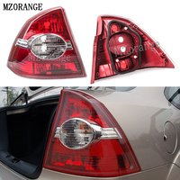 MZORANGE For Ford Focus Sedan 2 II 2005 2006 2007 2008 RH /LH Rear Tail Lights Lamps Taillight Brake Light Without Bulb