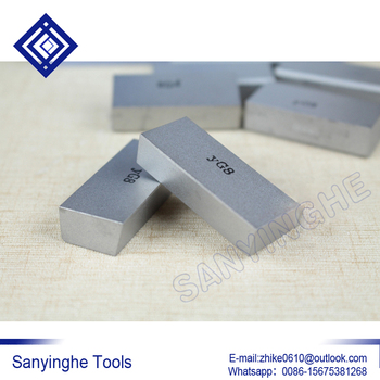 YW2 A125 sanyinghe carbide tips external fine  turning tool carbide welding blade for CNC boring tool for finishing (20pcs/lots)