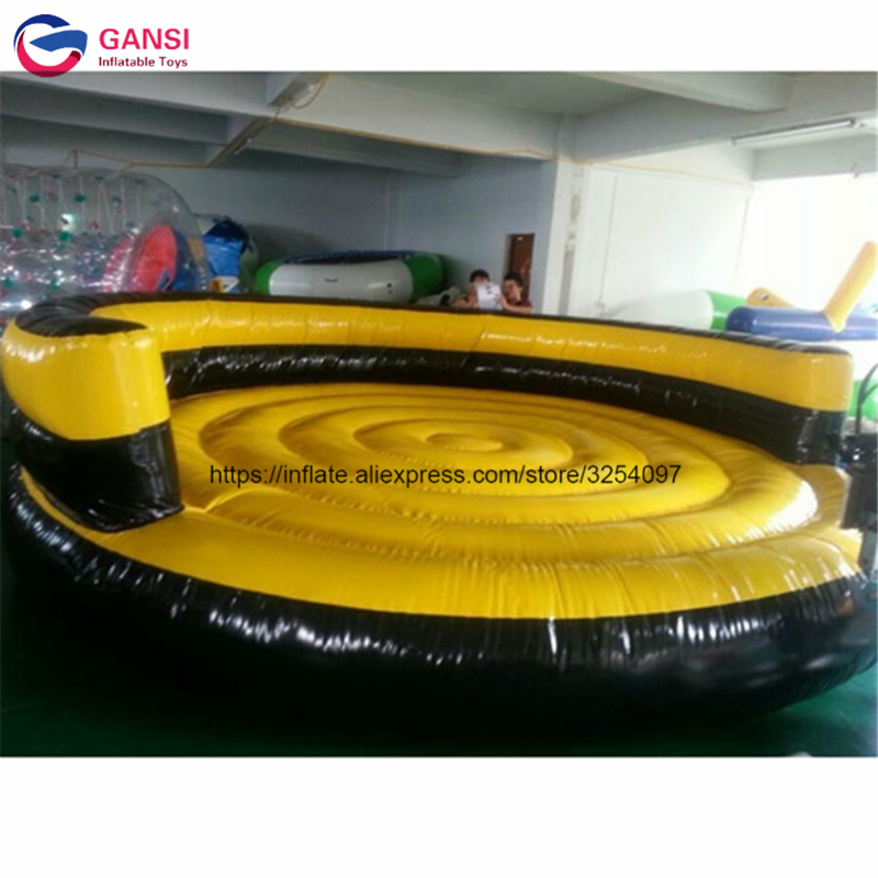Exciting summer best selling 5m diameter inflatable crazy UFO, flying fish tube inflatable water UFO with 1m height