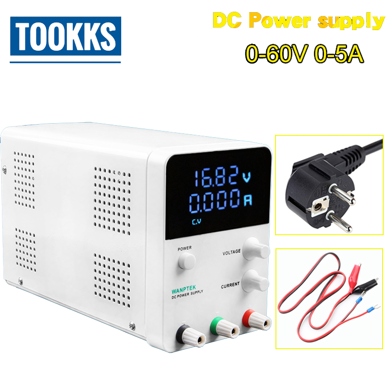 60V 5A GPS605D Voltage Regulators Switch DC Power Supply Digital Voltage Regulator Laboratory Scientific Research Power Supply