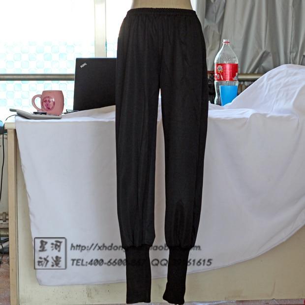 Apparel Naruto Cosplay Costume- Naruto Akatsuki Elastic Clothing Trousers Black Action Pants Wholesale Dropshipping
