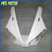 New Верхний обтекатель Неокрашенный передний обтекатель головы для Yamaha 00 01 YZF R1 YZF R1 2000 2001