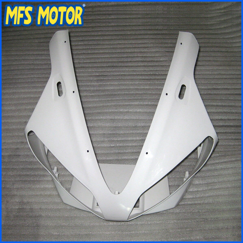 New Upper Fairing Unpainted Front Cowl Head For YAMAHA 00 01 YZF R1 YZF R1 2000 2001