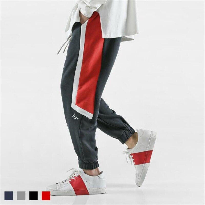 Men Harem Pants Fashion Brand Sportswear European And American Style Men Harem Pants Baggy Hip Hop Men's Cargo Trousers A3842 printed men jeans fashion embroidered cotton man cargo pants famous brand colorful denim trousers hip hop zipper men harem pants