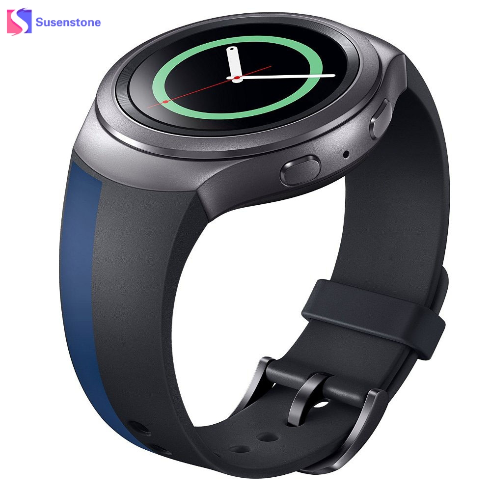 все цены на Top Quality Luxury 22MM TPU Silicone Rubber Watch Band Strap For Samsung Galaxy Gear S2 SM-R720 Watches Bands Replacement в интернете