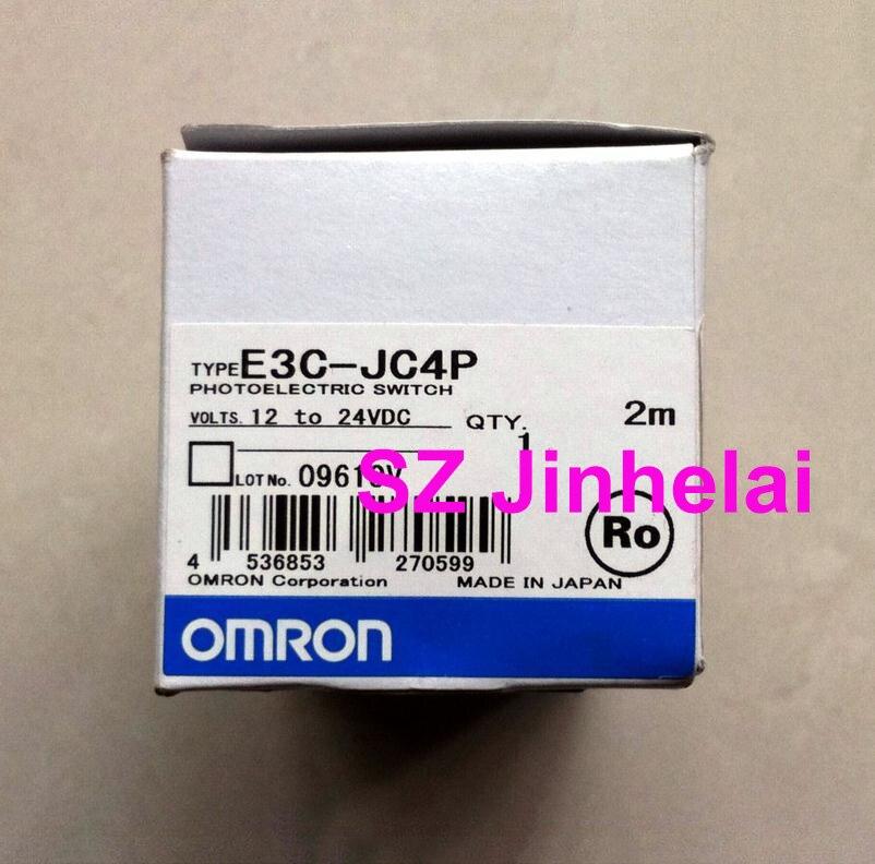 Authentic original E3C-JC4P OMRON Photoelectric switch 2M