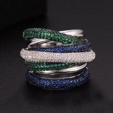 Обручальные кольца godki 25 мм роскошные обручальные из фианита